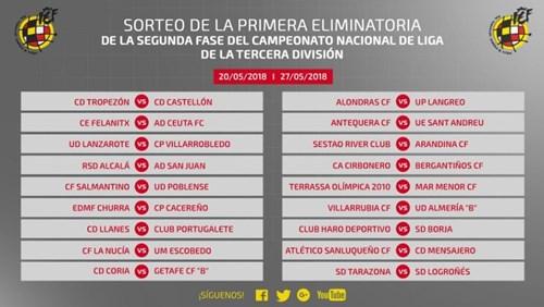 El Tenerife B se enfrentará al Inter de Madrid y el Mensajero al ...